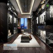 A001 现代风格 Modern style 3ddanlod.ir  172x172 - دانلود صحنه آماده اتاق لباس 189