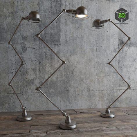 ATELIER SCISSOR TASK FLOOR LAMP(3ddanlod.ir)837