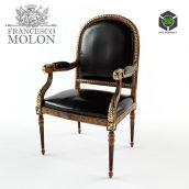 Armchair Francesco Molon(3ddanlod.ir)950