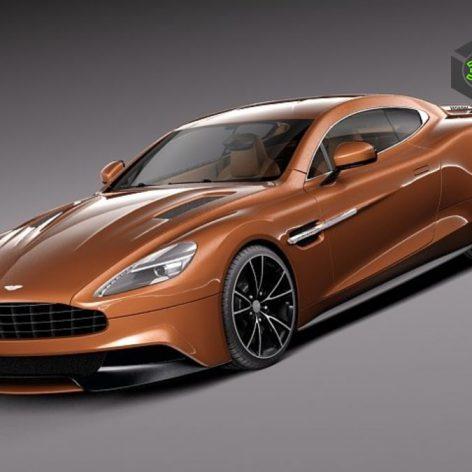 Aston Martin 2013 AM 310 Vanquish - Vray - 3D Model 082 (3ddanlod.ir)