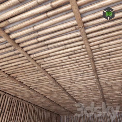Bamboo Ceiling(3ddanlod.ir)354
