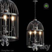 Beautiful Bird Cage Chandelier(3ddanlod.ir)695
