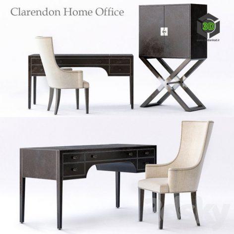 Bernhardt Clarendon Home Office(3ddanlod.ir)456