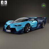 Bugatti Vision Gran Turismo 2015 Concept 111 (3ddanlod.ir)