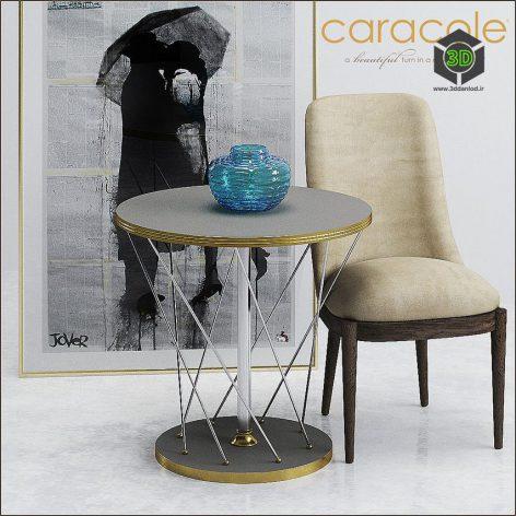 CARACOLE ART MET ENDTAB 003(3ddanlod.ir)986