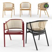 Cane Chair 01 By Cane Collection(3ddanlod.ir)1007