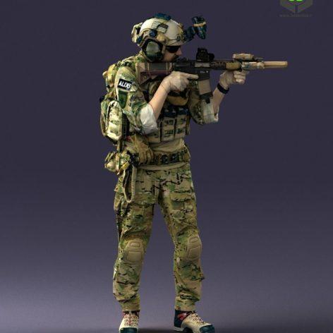 Cgtrader - soldier 0722 3D model (3ddanlod.ir) 142