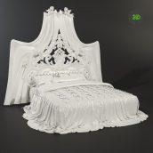 Double bed Dream Mil- ModeneseGastone (3ddanlod.ir)