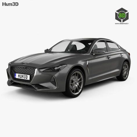Hum3D - Genesis G70 2018 054 (3ddanlod.ir)