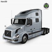 Hum3D - Volvo VNL Tractor Truck 2002 094 (3ddanlod.ir)