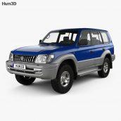 Hum3d - Toyota Land Cruiser Prado 5-door 1999 3D model (3ddanlod.ir) 020 (3ddanlod.ir)