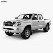 Hum3d - Toyota Tacoma Access Cab 2011 3D model (3ddanlod.ir) 023 (3ddanlod.ir)