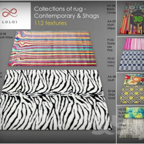 Loloi rugs Collection of 2 (3ddanlod.ir)