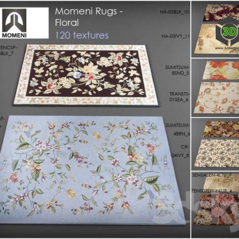 Momeni rugs - floral (3ddanlod.ir)
