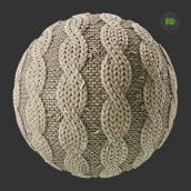 Stylized Cable Knit Wool (3ddanlod.ir)