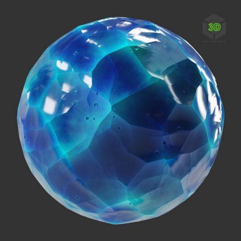 Stylized Carved Crystal (3ddanlod.ir)