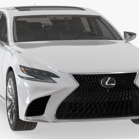 TurboSquid - Lexus LS 500 2018 - 1178869 041 (3ddanlod.ir)