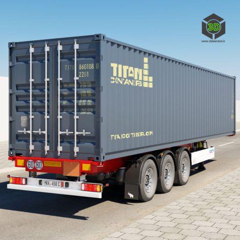 TurboSquid - Semi-Trailer Container - 676876 037 (3ddanlod.ir)