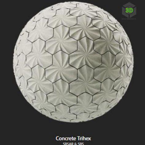 concrete_trihex (3ddanlod.ir)
