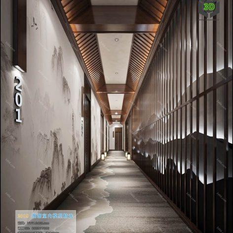 C008-中式风格-Chinese style (3ddanlod.ir)