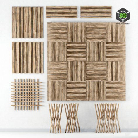 Decor of Bamboo(3ddanlod.ir)351