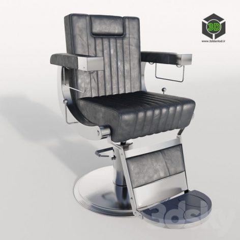 Dongpin Chair for Barbershop Hairdresser(3ddanlod.ir)263