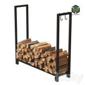 Firewood Storage Rack 2(3ddanlod.ir)462