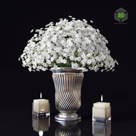 Flowers in Vase 1(3ddanlod.ir)1104