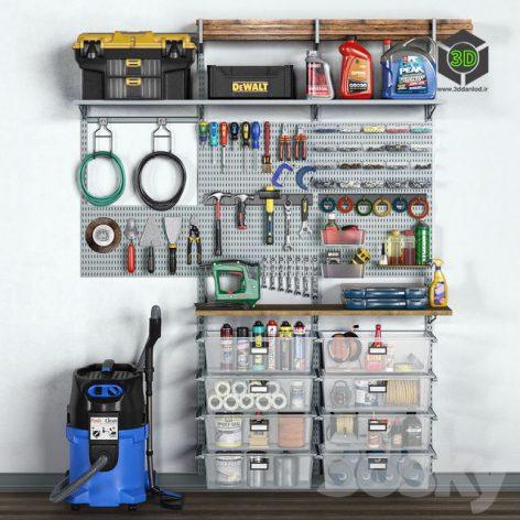 Garage Tools Set 11(3ddanlod.ir)763