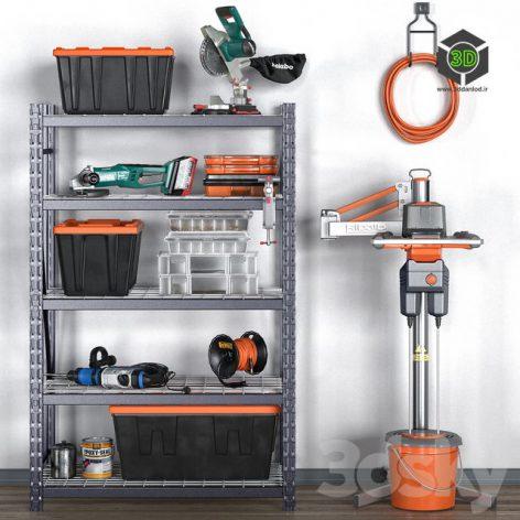 Garage Tools Set 12(3ddanlod.ir)772
