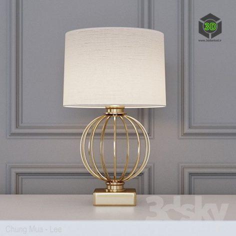 Garda Decor Table Lamp(3ddanlod.ir)675