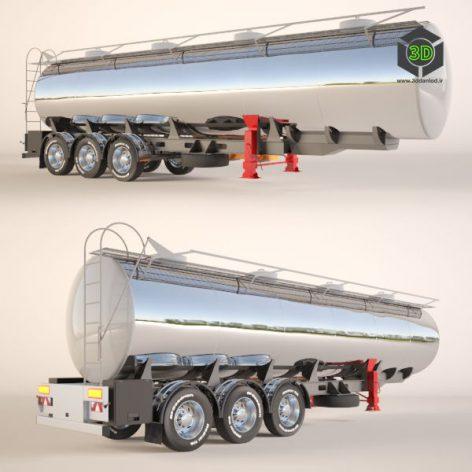 Gasoline Fuel Tanker Trailer(3ddanlod.ir)902