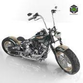 Harley Davidson Knucklehead(3ddanlod.ir)119