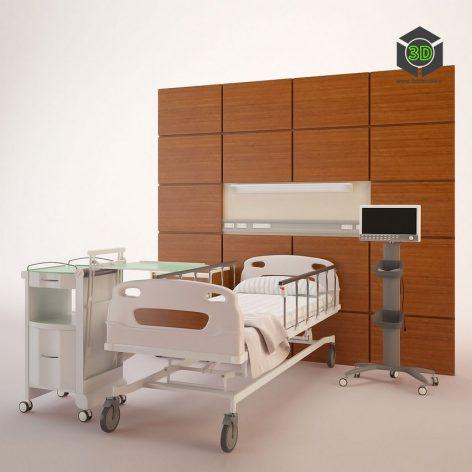 Hospital Ward Hospital Room(3ddanlod.ir)920