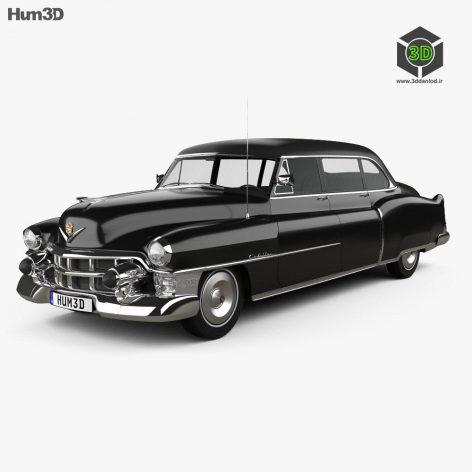 Hum3d - Cadillac 75 sedan 1953 3D model (3ddanlod.ir) 011