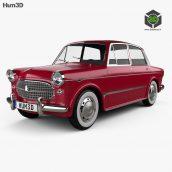 Hum3d - Fiat 1200 Granluce 1957 (3ddanlod.ir) 038