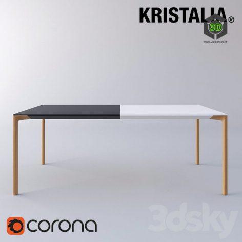 Kristalia Boiacca Wood Table(3ddanlod.ir) 049