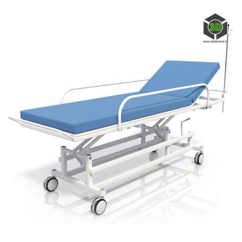 Medical Trolley Wheel(3ddanlod.ir)1103