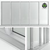 Panoramic Window in the Floor With Radiator(3ddanlod.ir) 069