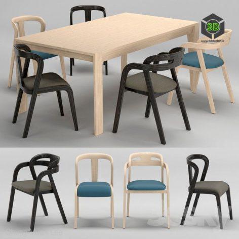 Passioni Genea Chair Prince Table(3ddanlod.ir)645