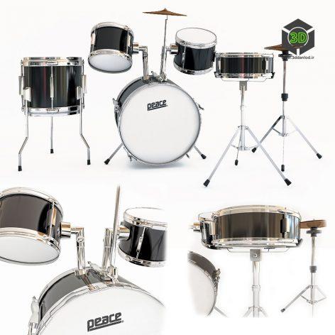 Peace DP 16JR 5 Drum Set(3ddanlod.ir)954