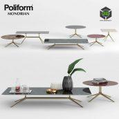Poliform Mondrian Coffee Tables 1(3ddanlod.ir) 138