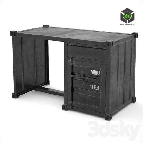 Sea Container Desk(3ddanlod.ir) 033