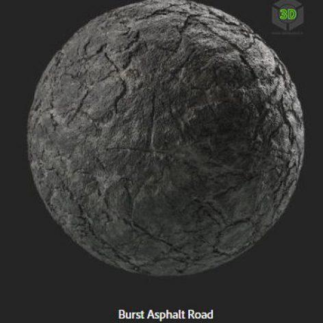 burst_asphalt_road (3ddanlod.ir)