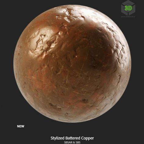 stylized_battered_copper (3ddanlod.ir)