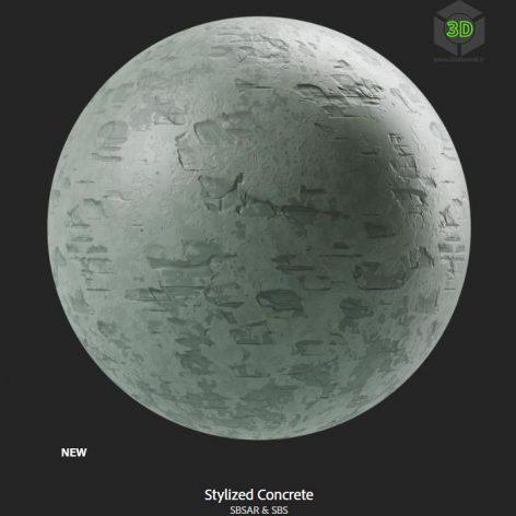 stylized_concrete (3ddanlod.ir)