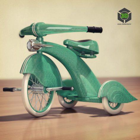 1930s Vintage Tricycle(3ddanlod.ir) 085