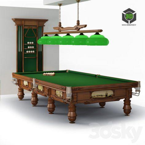 Admiral Billiard Table(3ddanlod.ir) 433