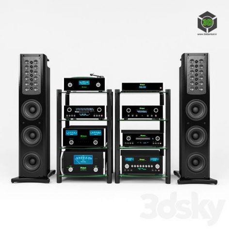 Audio equipment_McIntosh (3ddanlod.ir)