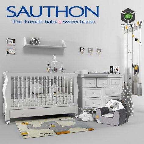 Baby Room SAUTHON Babyfan(3ddanlod.ir) 1007